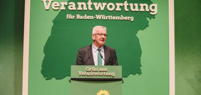 Rede des grünen Spitzenkandidaten, Bündnis 90/Die Grünen Baden-Württemberg