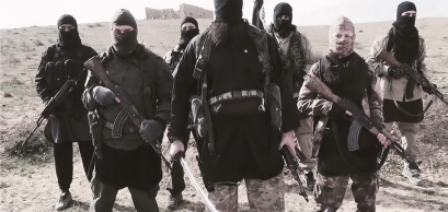 Snapshot of an ISIS propaganda video