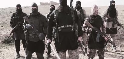 Extrait d'une vidéo de propagande de Daech menaçant la France