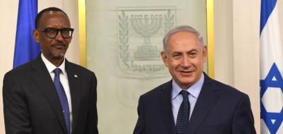 Le Président Kagame rencontre le Premier Ministre Benyamin Netanyahou | Jerusalem, 10 juillet 2017