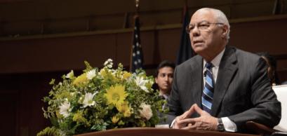 Colin Powell, Ann Aebor, MI / USA - September 19 2017
