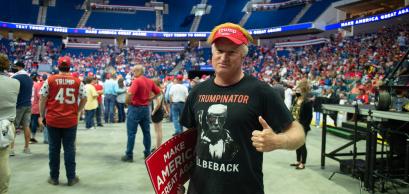 Tulsa, Oklahoma, Etats-Unis, 20 juin 2020 : supporters de Trump