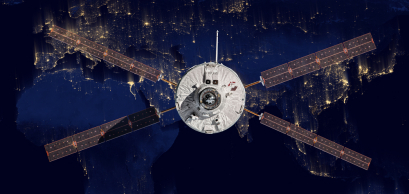 Le véhicule automatique de transfert européen (ATV-4) de l'Agence spatiale européenne s'approche de la Station spatiale internationale