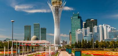Bayterek Tower, Nurzhol Bulvar. Kazakhstan, Astana © Anton Petrus/Shutterstock.com