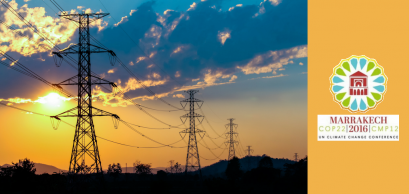 Silhouette of high voltage electric poles structure, Shutterstock/Apinan