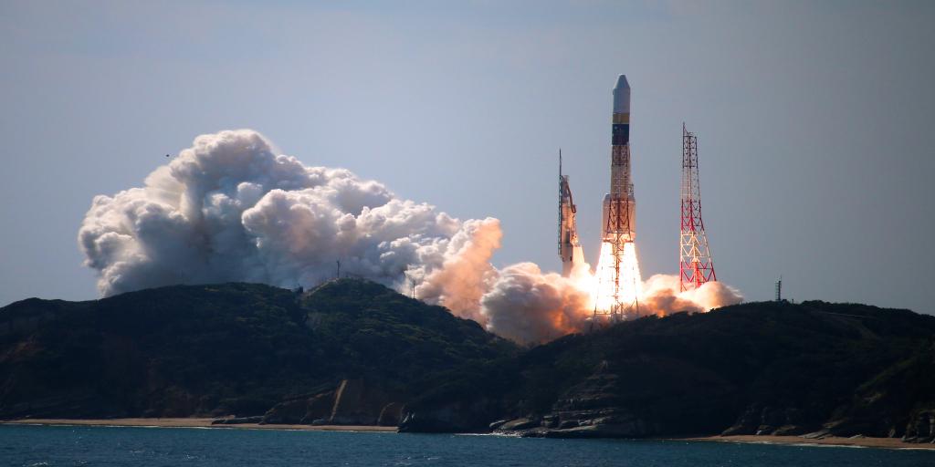 Le programme spatial du Japon. S'éloigner des objectifs non-offensifs ?