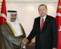 President Recep Tayyip Erdoğan and Prime Minister of Kuwait, Sheikh Jaber Mubarak Al-Hamad Al-Sabah