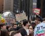 New York, USA - 15 mars 2019: Grève de la jeunesse pour le climat.