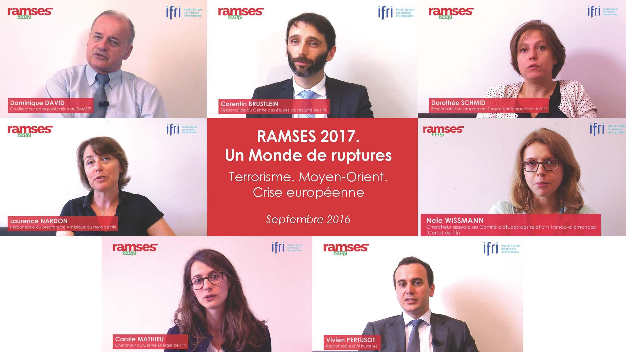 Les vidéos du RAMSES 2017