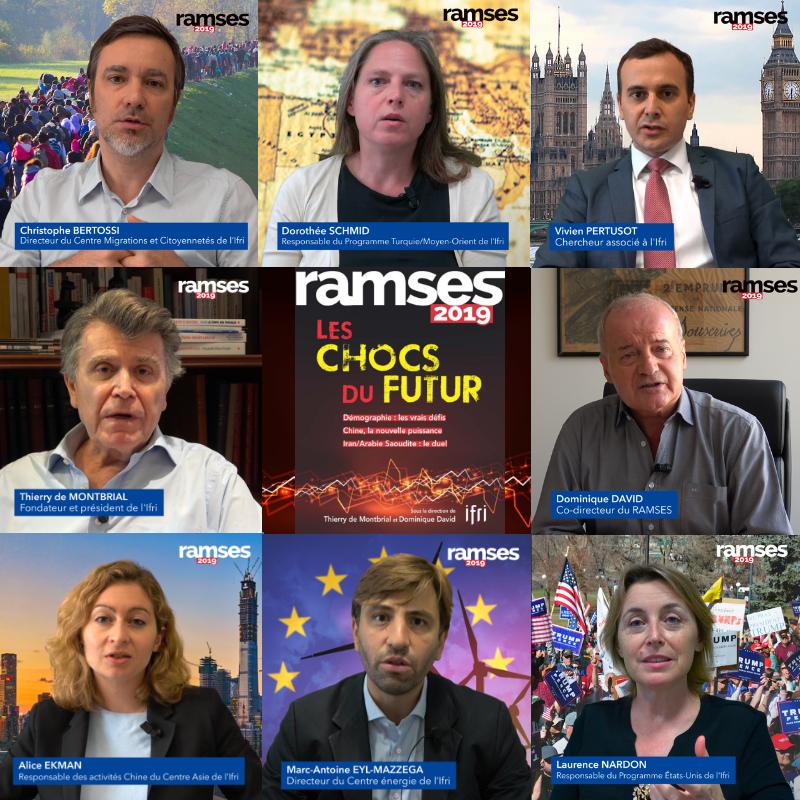 Mosaïque vidéos RAMSES 2019